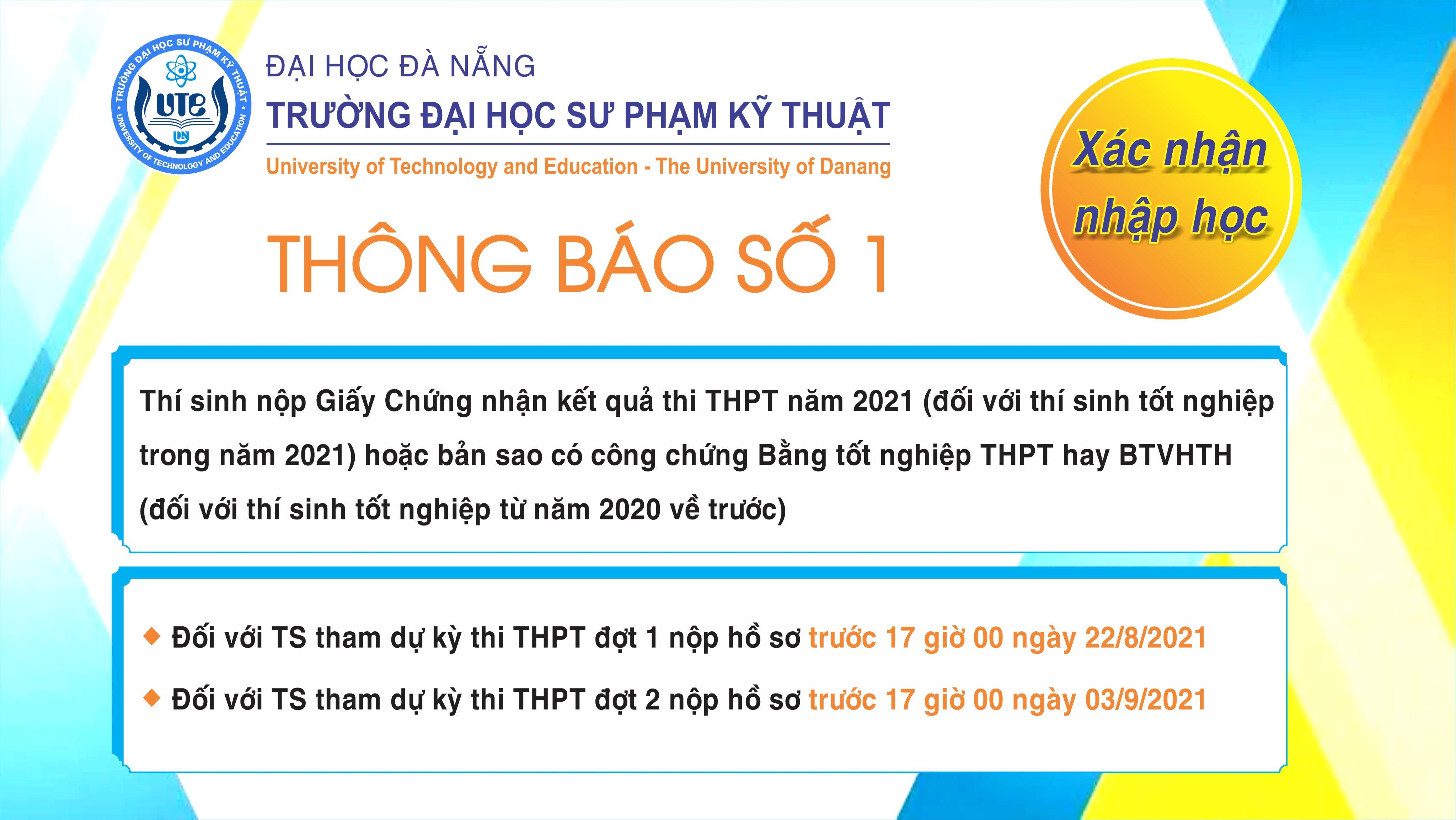 thong bao nhap hoc so 1